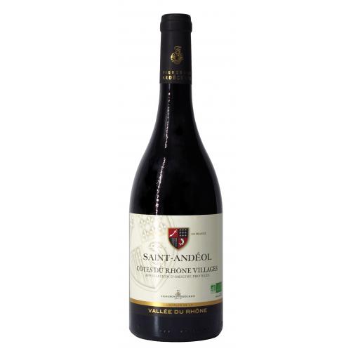 Saint Andéol Côtes du Rhône Villages BIO Vin Biologique Rouge 2019 75cl