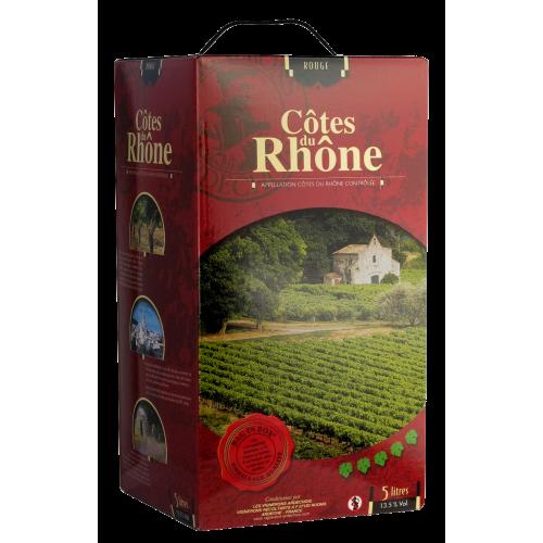 Côtes du Rhône Rouge 5L