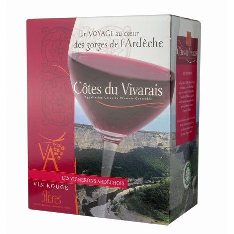 Côtes du Vivarais rouge 3L