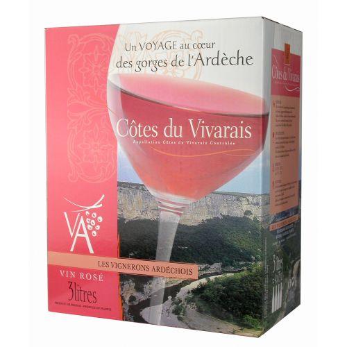Côtes du Vivarais rosé 3L