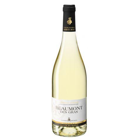 Côtes du Vivarais Beaumont des Gras Blanc 2017 75cl